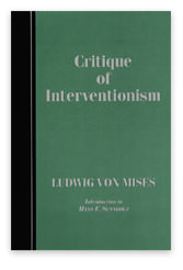 Critique of Interventionism