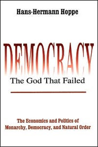 cover of Democracy: The God that Failed