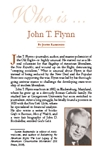 Who is John T. Flynn