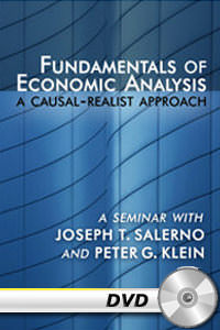 Fundamentals of Economic Analysis: A Causal-Realist Approach DVD