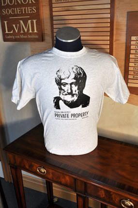 Aristotle T-Shirt Gray