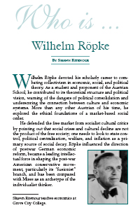Who is Ropke?
