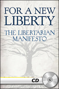 For a New Liberty: The Libertarian Manifesto - MP3 CD