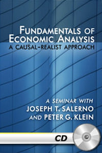 Fundamentals of Economic Analysis: A Causal-Realist Approach - MP3 CD