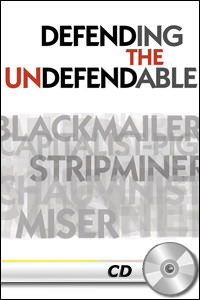 Defending the Undefendable - MP3 CD