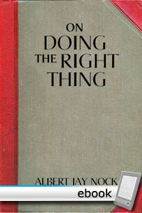 On Doing the Right Thing - Digital Book