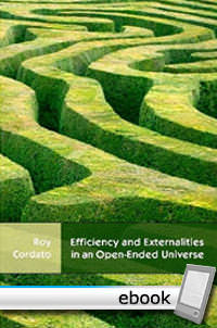 Efficiency and Externalities in an Open-Ended Universe - Digital Book