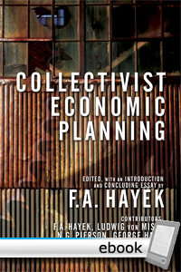 Collectivist Economic Planning - Digital Book