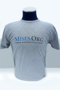 Mises.org Premium Fitted T-shirt