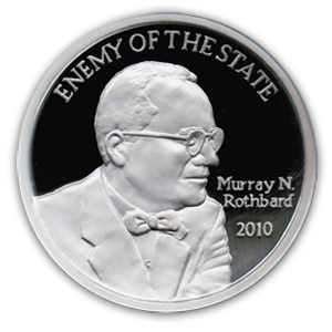 Enemy of the State Commemorative Silver Round