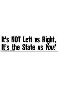Sticker - It's the State vs You