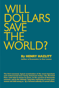 Will Dollars Save the World?