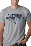 Austrian Revolution T-shirt Gray