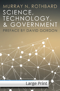 Science, Technology, and Government - Large Print