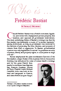 Who is Bastiat?