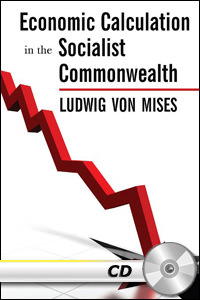 Economic Calculation In The Socialist Commonwealth - MP3 CD