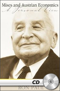 Mises and Austrian Economics: A Personal View - MP3 CD