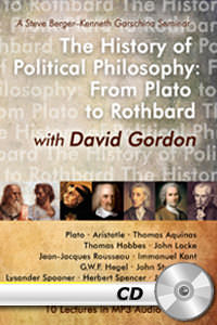 History of Political Philosophy: Plato to Rothbard - MP3 CD