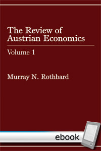 Review of Austrian Economics, Volume 1 - Digital Book
