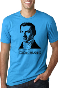 Bastiat Premium Fitted T-Shirt Turquoise