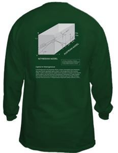 Business Cycle T-Shirt Forest Green Long-sleeve