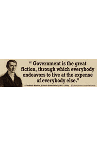 Sticker - Government is the Great Fiction