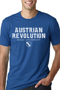 Austrian Revolution T-shirt Blue